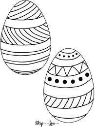 Easter Template Easter Egg Templates For Fun Easter Crafts Skip To My Lou