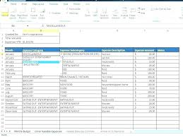 Free Finance Spreadsheet Monthly Home Ses Template Budgeting Household Free Bills