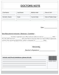 Fake A Doctors Note Fake Doctors Note Uk Template Fake Doctors Note Notes To Excuse Your