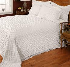 white chenille bedspread. Simple White For White Chenille Bedspread