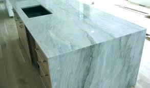 alternatives to marble in your farmhouse kitchen city carrara countertop white per square foot