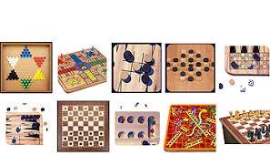 Wooden Board Game Sets Pavilion Games 10000 in 100 Game Set ToysRUs 14