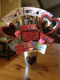 day gift baskets bouquets for him