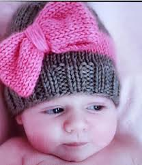 Free Knitting Patterns For Baby Hats Impressive Baby Hat Knitting Patterns In The Loop Knitting