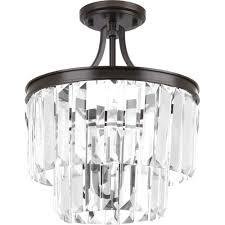 progress lighting fixtures. Progress Lighting PRO-P2325-20 Glimmer Antique Bronze Ceiling Light Kitchen | EFaucets.com Fixtures
