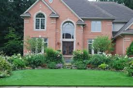 how you handle the landscape and garden at your front door