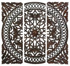 decoration full size of wood wall decor also embossed medallion as well carved medallions