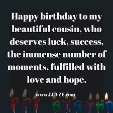 Happy Birthday Cousin Quotes Custom Happy Birthday Cousin Quotes Wishes Sayings Messages