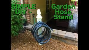 diy how to build a garden hose holder