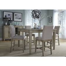 dining room table height. grayton grove driftwood extendable counter height dining room set table