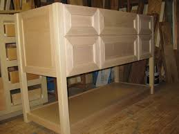 Bathroom High Cabinet Bathroom Furniture Unfurnished And Unfinished Custom Diy Oak