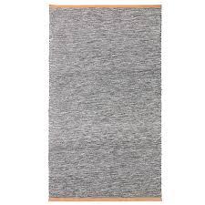 design house stockholm björk rug bright grey