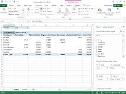 Pivot Chart Excel 2016 How To Filter Pivot Table Data In Excel 2016 Dummies