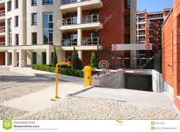 basement parking entrance. Plain Parking Download Entre De Parking Image Stock Image Du Extrieur Moderne   32412195 In Basement Parking Entrance