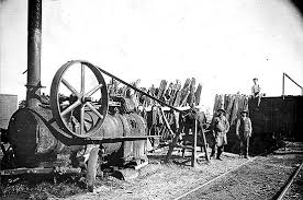 steam powered sawmill. steam powered sawmill m