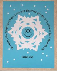 snowflake thank you cards printable snowflake thank you note fun family crafts