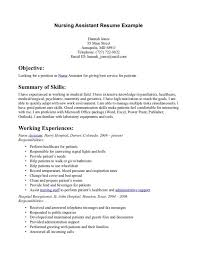 Stylish Inspiration Ideas Cna Duties Resume 13 Resume Home Cna Job