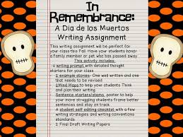 best dia de los muertos images spanish classroom  dia de los muertos writing activity fancy in fourth · 5th grade classroomday of deadteaching