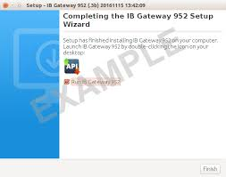 ib gateway interactive brokers tws install for linux screen