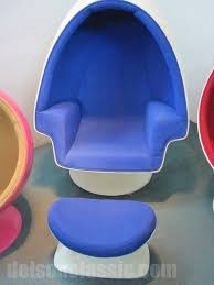 lee west stereo alpha egg pod speaker chair