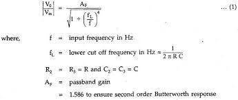 Second Order High Pass Butterworth Filter Eeeguide
