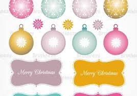 Christmas Ornaments, Tree, & Tag Vector Pack - Download Free Vector Art,  Stock Graphics & Images