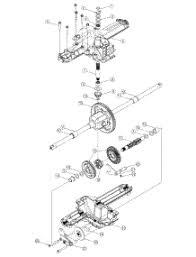 parts for bolens 13an683g163 2003 lawn tractor 1967 Bolens 1250 transmission assembly parts for bolens lawn tractor 13an683g163 2003 from appliancepartspros com