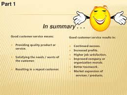Customer Service Training 1