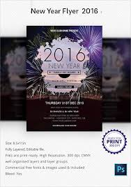 35 Amazing New Year Party Flyer Templates To Download | Sample Templates