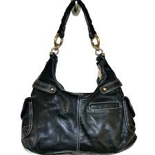 purses b black leather handbag bruce makowsky handbags purse reviews