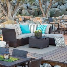 Outdoor Living Room Set Cozy Outdoor Living Space Hayneedle Blog