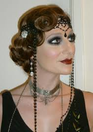 twitter eugeneconde roaring 20 s makeup and hairstyle modern flapper fashion trend