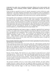 guidelines on security and privacy in public cloud computing 7 vii understand the public cloud computing
