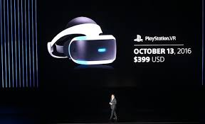 sony vr headset. shawn layden, chairman of sony interactive entertainment worldwide studios, announced that the playstation vr vr headset