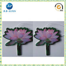 Paper Flower Perfume China Flower Shape Promotion Paper Air Freshener Car Accessory Car