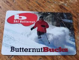 gift cards can be redeemed anywhere on the property tubing lift tickets food beverage etc