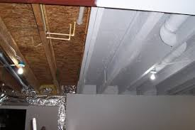Plain Unfinished Basement Ceiling Paint Ibeam F Throughout Models Design