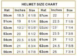 Equestrian Helmet Size Chart Equestrian Riding Helmet Size Chart