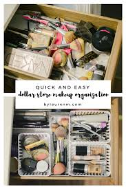 dollar makeup drawer organization how to easily organize your makeup drawer for under 5