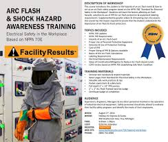 Nfpa 70e Ppe Chart Regional Workshops Facility Results