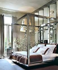 chrome bedroom furniture. Chrome Bedroom Furniture Mirrored 4 Poster Bed Best Images On Beds Canopy House . I