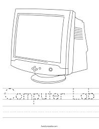 Computer Lab Worksheet - Twisty Noodle