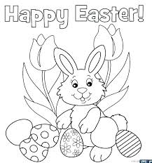 Easter Free Colouring Pages Printable Coloring Pages Free Rabbit
