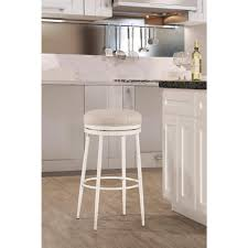white backless bar stools. Hillsdale Furniture Aubrie Off-White Swivel Backless Bar Stool White Stools