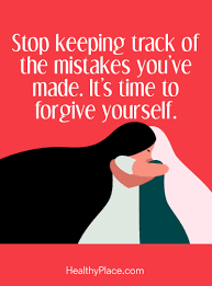 Forgive Yourself Quotes Cool SelfHelp Quote HealthyPlace