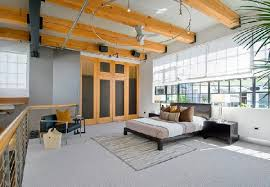 Bedroom Layout at Wonderful Loft Living Space in SoMa, San Francisco