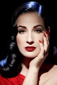 miss meadows pearls dita von teese makeup line snow white inspired fashion