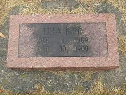 Eula Bird (1909-1909) - Find A Grave Memorial
