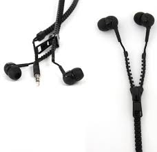 Zip Up Headphones Introducing Zip Up Earphones