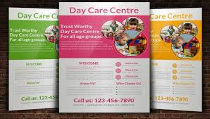 Samples Of Daycare Flyers 31 Elegant Daycare Flyers Word Psd Ai Eps Vector